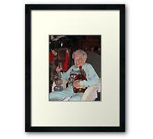 Stoner Grandma Framed Print