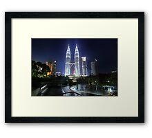 The Petronas Towers Framed Print