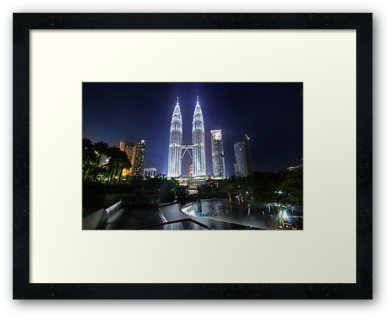 The Petronas Towers by Keegan Wong