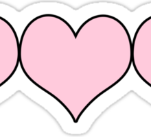 Hearts Sticker