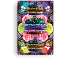 WELCOME TO GOTH BURGER  Canvas Print