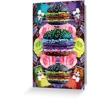 WELCOME TO GOTH BURGER  Greeting Card