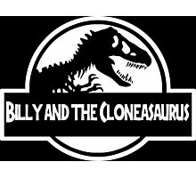 Billy And The Cloneasaurus Photographic Print