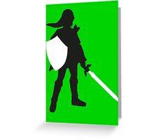 Legend of Zelda - Link  Greeting Card