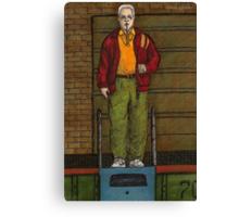 Go Fish - Coach Marin - BtVS Canvas Print