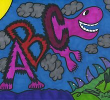 ABC Dinosaur by chadink