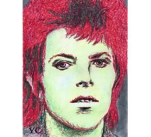 David Bowie Portrait Photographic Print