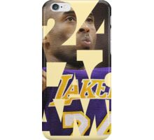Kobe 24 Black Mamba Bryant iPhone Case/Skin