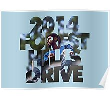 J Cole 2014 Forest Hills Drive Poster
