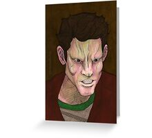Beauty and the Beasts - Pete - BtVS Greeting Card