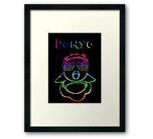 Electric Ponyo (Fish Form) Framed Print