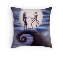 Nightmare Before Christmas Throw Pillow