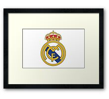 Real Madrid. Real. Soccer. Football. Team. Spain Framed Print