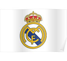Real Madrid. Real. Soccer. Football. Team. Spain Poster
