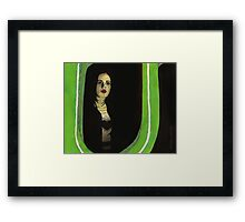 Graduation Day, Part One - Faith - BtVS Framed Print