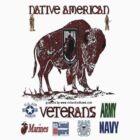 Native American Veterans by richardredhawk