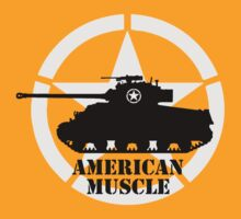 American Muscle WW2 by DarkHorseDesign
