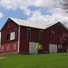 A Grand Red Barn by vigor