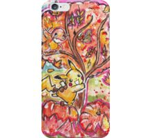 Pokemon Autumn Scene! iPhone Case/Skin
