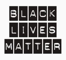Black Lives Matter (Black Blocks Over White) by BroadcastMedia