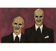 Hush - The Gentlemen - BtVS Photographic Print