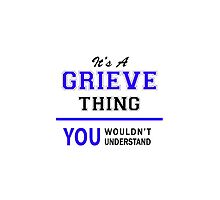 It's a GRIEVE thing, you wouldn't understand !! by thenamer