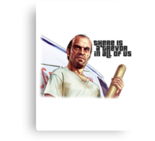 There is a Trevor in All of Us Metal Print