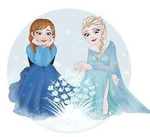 Frozen Bouquet by bleekay