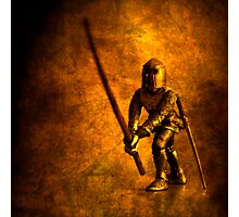 Courteoust Knight Photographic Print