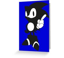 iSonic Greeting Card
