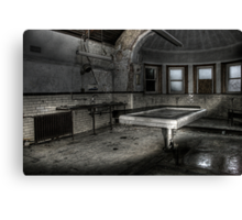 Slab and morgue Canvas Print