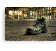 Lonely Boot Canvas Print