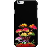 Cluster of Shrooms  iPhone Case/Skin