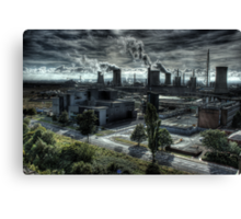 Industrial Apocalypse Canvas Print