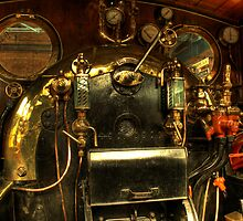 Steam Engine Controls by Richard Shepherd