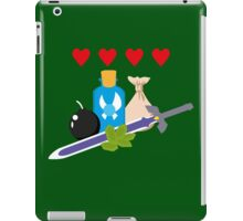 Legend of Zelda Items iPad Case/Skin