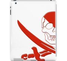 Scuba Diving Pirate Skull and Swords iPad Case/Skin