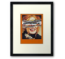 Eternal Sunshine of the Spotless Mind - Clementine Framed Print