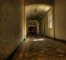 Corridor and floor by Richard Shepherd