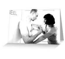 The Look of Love Before The Bullet of Truth - Hearts At War Greeting Card