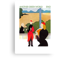 Brian Eno - Another Green World Canvas Print