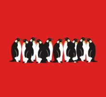 Ten penguins by popdesign