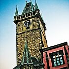 Tower in Prague by rogerjporter