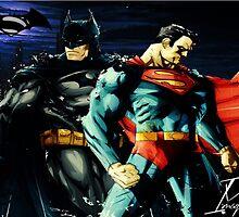 Superman VS Batman   by montro750