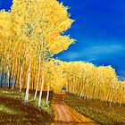 Aspen Road by GeorgeBurr