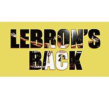 LeBron's Back Photographic Print