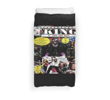 """Code Name: King""  - Comic Book Promo Poster  Duvet Cover"