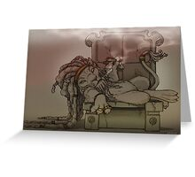 Rasta Lion Greeting Card