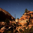 Zion by Moonlight by Nolan Nitschke