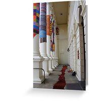 Cosy Columns 18 Greeting Card